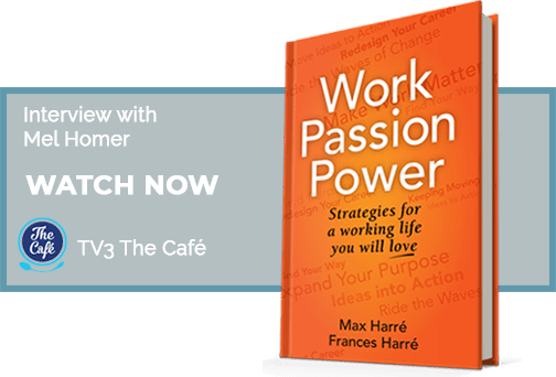 Watch now the interview about the Work Passion Power book